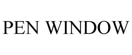 PEN WINDOW
