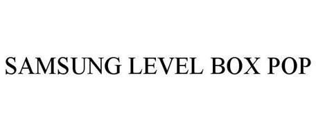 SAMSUNG LEVEL BOX POP
