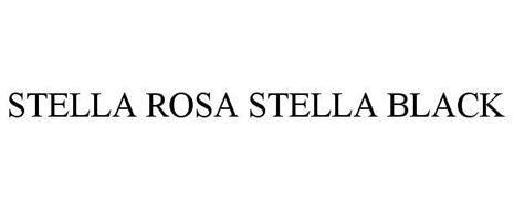 Stella Rosa Stella Black Trademark Of San Antonio Winery