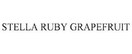 STELLA RUBY GRAPEFRUIT