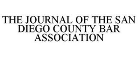THE JOURNAL OF THE SAN DIEGO COUNTY BAR ASSOCIATION