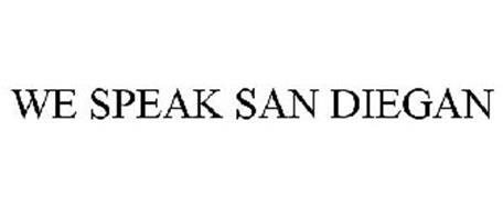 WE SPEAK SAN DIEGAN