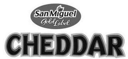 SAN MIGUEL GOLD LABEL CHEDDAR