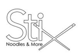 STIX NOODLES & MORE