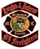 KNIGHTS OF THE INFERNO MC BROTHERHOOD LOYALTY 9-11 NJ FIREFIGHTERS