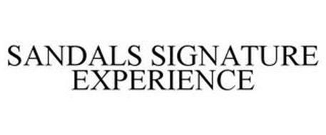 SANDALS SIGNATURE EXPERIENCE