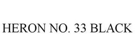 HERON NO. 33 BLACK