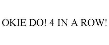 OKIE DO! 4 IN A ROW!