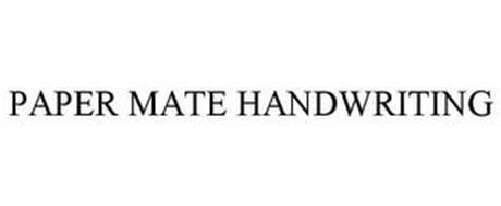 PAPER MATE HANDWRITING