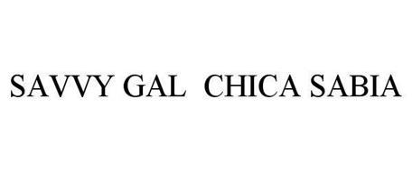 SAVVY GAL CHICA SABIA
