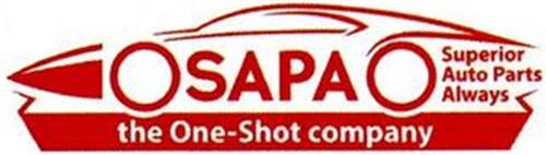 SAPA THE ONE-SHOT COMPANY SUPERIOR AUTOPARTS ALWAYS