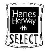 H HANES HER WAY SELECT