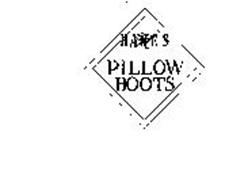 HANES PILLOW BOOTS H