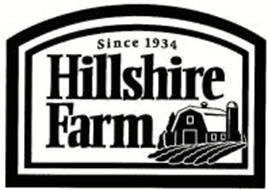 HILLSHIRE FARM SINCE 1934