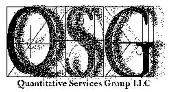QSG QUANTITATIVE SERVICES GROUP LLC