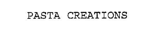 PASTA CREATIONS