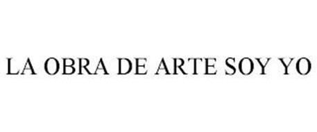 LA OBRA DE ARTE SOY YO