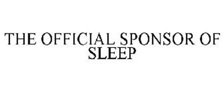 THE OFFICIAL SPONSOR OF SLEEP