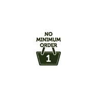 NO MINIMUM ORDER 1