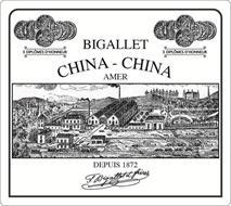 3 DIPLOMES D'HONNEUR BIGALLET CHINA CHINA AMER DEPUIS 1872 F. BIGALLETT ET FRÈRES