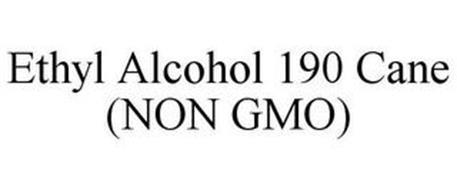 ETHYL ALCOHOL 190 CANE (NON GMO)