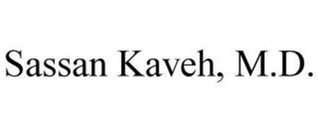 SASSAN KAVEH, M.D.