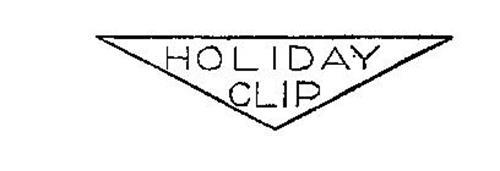 HOLIDAY CLIP