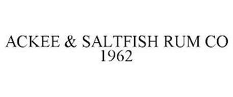 ACKEE & SALTFISH RUM CO 1962