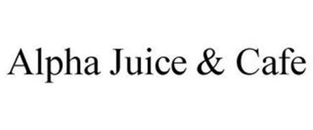 ALPHA JUICE & CAFE