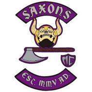 SAXONS MC EST. MMV A.D.
