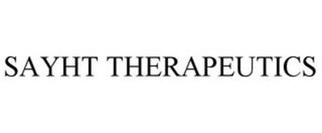 SAYHT THERAPEUTICS