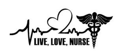 LIVE, LOVE, NURSE Trademark of S&B Marketing, LLC. Serial ...