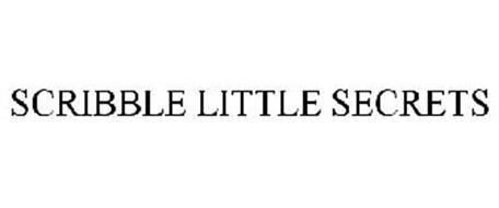 SCRIBBLE LITTLE SECRETS