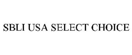 SBLI USA SELECT CHOICE