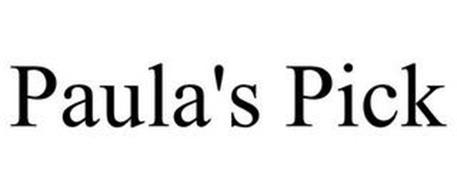 PAULA'S PICK