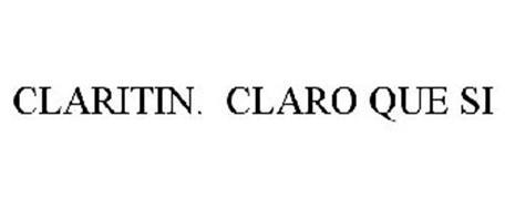 CLARITIN. CLARO QUE SI