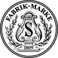 FABRIK-MARKE S 1809