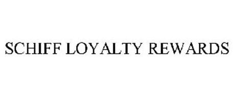 SCHIFF LOYALTY REWARDS