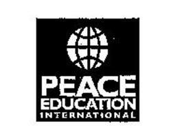 PEACE EDUCATION INTERNATIONAL