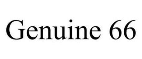 GENUINE 66