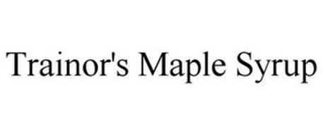 TRAINOR'S MAPLE SYRUP
