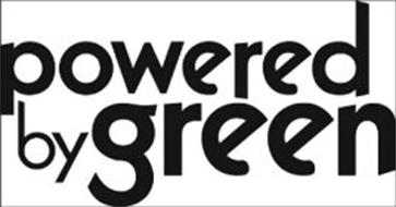 POWERED BY GREEN