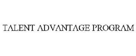 TALENT ADVANTAGE PROGRAM