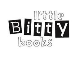 LITTLE BITTY BOOKS