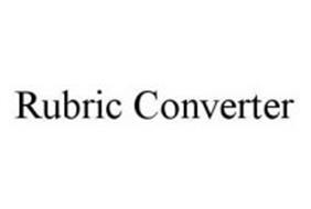 RUBRIC CONVERTER