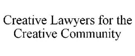 CREATIVE LAWYERS FOR THE CREATIVE COMMUNITY