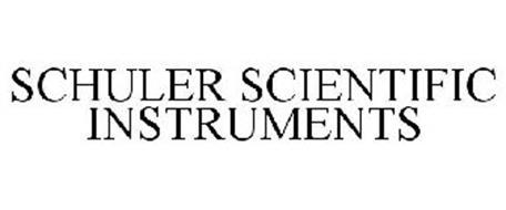 SCHULER SCIENTIFIC INSTRUMENTS