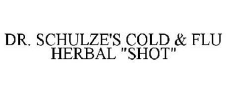 """DR. SCHULZE'S COLD & FLU HERBAL """"SHOT"""""""