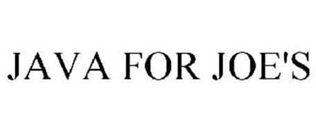 JAVA FOR JOE'S