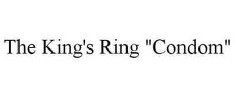 "THE KING'S RING ""CONDOM"""